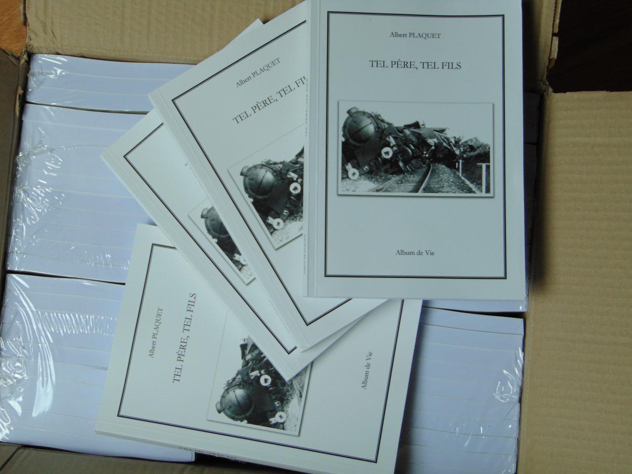 100 exemplaires de Tel père, tel fils