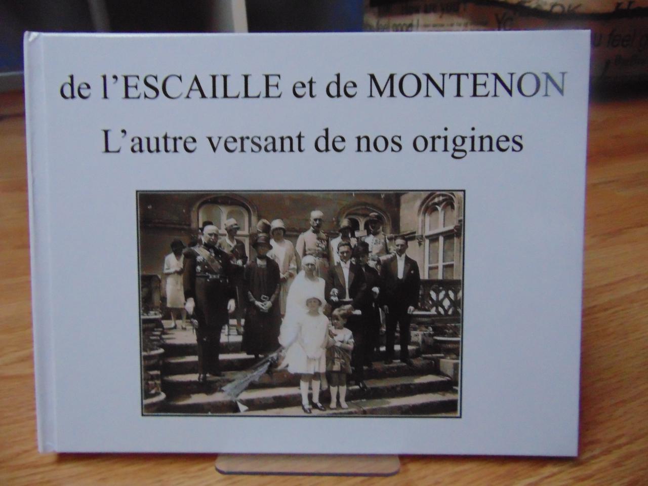 Couv du livre de l'Escaille et de Montenon