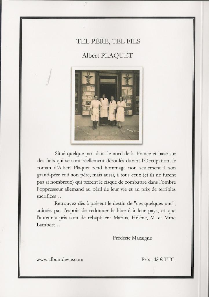 Couv Tel père tel fils Plaquet0001