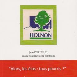 """Couverture du livre de Jean Delépine """"Holnon"""""""