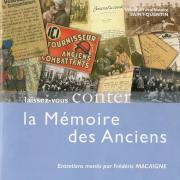 Couverture La mémoire de nos anciens Guerre 14-180001